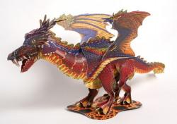 Дракон от легендите + 3D пъзел