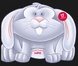Забавните животни: Зайче