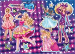 Барби Рокендрол принцеса: Чети, оцвети, залепи!