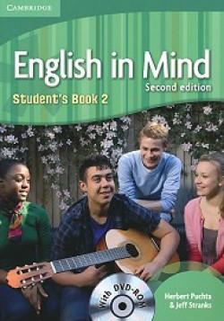 English in Mind: Second Edition: Учебна система по английски език Ниво 2 (A2 - B1): Учебник + DVD-ROM