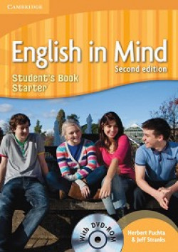 English in Mind: Second Edition: Учебна система по английски език Ниво Starter (A1): Учебник + DVD-ROM