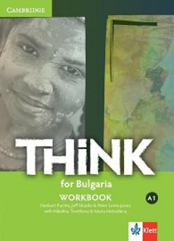 Think for Bulgaria: ниво А1: Учебна тетрадка по английски език за 8. клас + CD