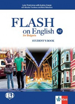 Flash on English for Bulgaria: ниво A2: Учебник по английски език за 8. клас