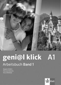 geni@l klick: ниво A1: Учебна тетрадка №1 по немски език за 8. клас + CD