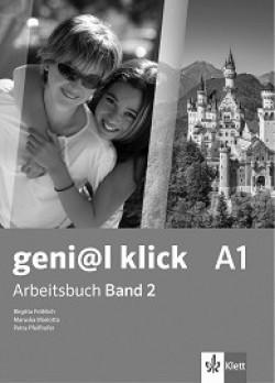 geni@l klick: ниво A1: Учебна тетрадка №2 по немски език за 8. клас + CD