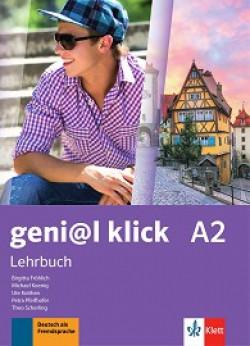 geni@l klick: ниво A2: Учебник по немски език за 8. клас